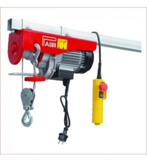 Mini Electric Hoist PA600 300/600kg (1050W)