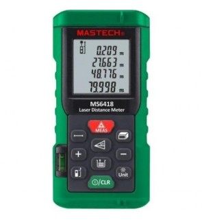 Mastech MS6418 80Meter Digital Laser Distance Measurer Meter / Range Finder Ruler