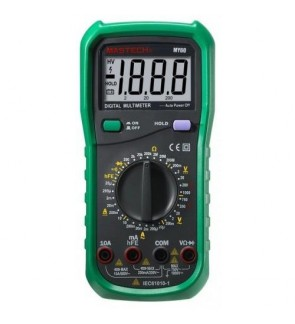 Mastech MY60 Digital Multimeter DMM (Date / Hold / AC / DC / Voltage / Current / Resistance)