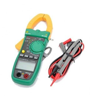 Mastech MS2026 AC Auto Range Digital Clamp Meter (Ammeter Voltmeter Ohmmeter w/ Capacitance & Frequency Test)