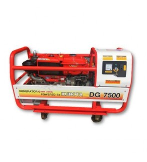 Kubota DG7500 7500kVA 240V Diesel Generator (Made In Japan)