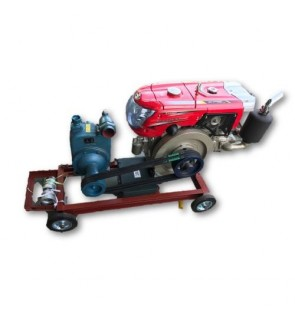 "Cameo 18HP Diesel Engine (Thailand Kubota) Battery Starter c/w 3"" High Head Self-Priming Centrifugal Pump Complete Set"