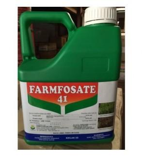 4 Liter Farmfosate Glyphosate 41% Class 3 Herbicide Racun Rumpai/Rumput