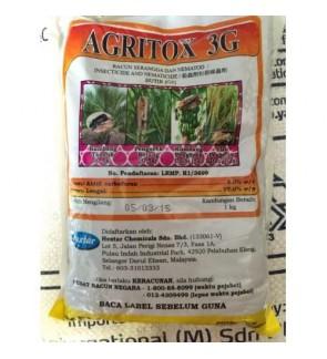 1kg Agritox 3G Insecticide 3% Racun Serangga (Fudan)