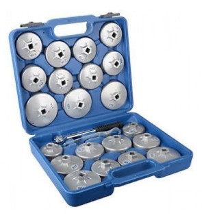 23pcs Cup Type Oil Fiter Opener Set (Heavy Duty)