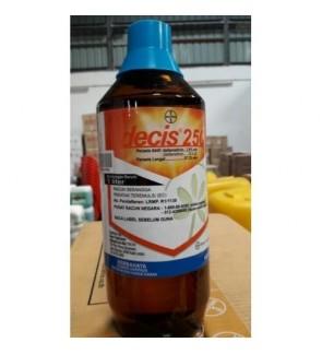 1 Liter Decis 250 Insecticide 2.8% Class 3 Racun Serangga
