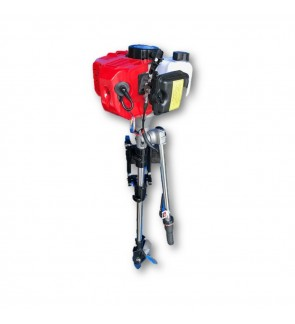 Two-Stroke 3hp Superior Engine Outboard Motor For Boat / Inflatable Boat