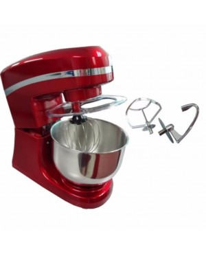 Bakers Stand Mixer 5.2 Liter (Red) c/w 3 type of Mixing Hook