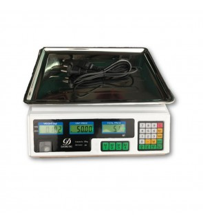 Himitzu Digital Rechargable Counting Weighting Scale 30kg 2g Reading (99 Accumulation Memory