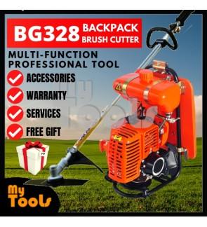 Mytools Tanika / Taneka BG328 Fuel Saving Backpack Brush Cutter Grass Cutter Trimmer Mesin Rumput + Mystery Gift