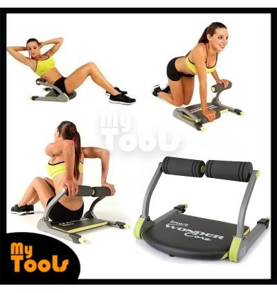 Six 6 Pack Wonder Core Exercise Smart Machine Ab Toning Workout Train Wonder Exercise System