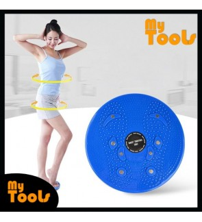 [Ready Stock] Twist Waist Body Foot Massage Disc Board Aerobic Exercise Fitness