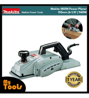 Makita 1805N Power Planer 155mm (6-1/8) 1140W 15000rpm 8kg + 12Months Makita Original Warranty