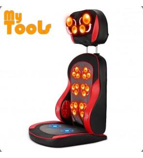 Mytools Healthy Electric Body Massage Heating Massage Cushion Therapy Machine Pad