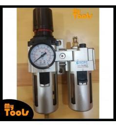 XCPC XAC4010-04 AIR REGULATOR FILTER WATER TRAP OILER LUBRICATOR