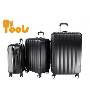 Mytools Big Stripe 3-In-1 Ultralight Luggage Set (20Inch+24Inch+28Inch)
