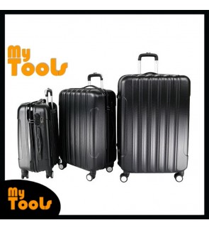 Big Stripe Ultralight Luggage Set - 3 in 1 (20