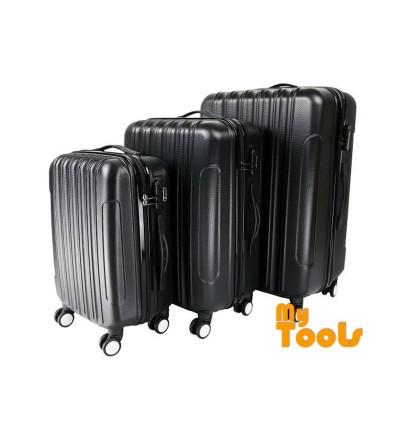 Mytools Big Stripe 3-In-1 Ultralight Luggage Set (20Inch+24Inch+28Inch)