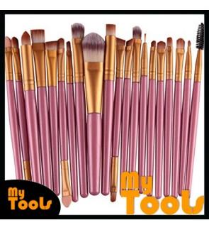 Professional Beauty Makeup Soft Brushes (20 Pcs)