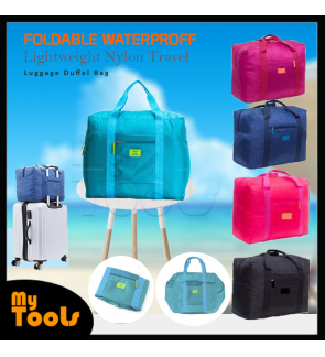 Foldable Waterproof Lightweight Nylon Travel Luggage Duffel Bag