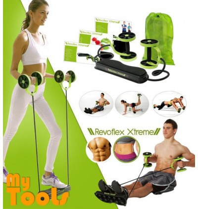 Mytools Revoflex Xtreme Home Gym Resistance Workout Fitness Ab Roller