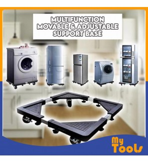 [Ready] Heavy Duty Movable Type Special Base for Washing Machine & Refrigerator