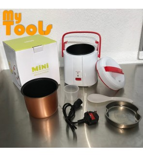 [Malaysia 3-Pin Plug] Mytools 1.8L Portable Compact Mini Electric Rice Cooker