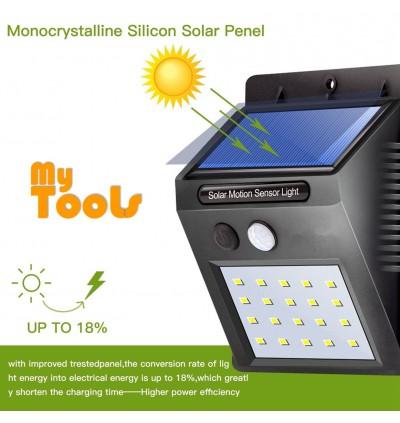 [Ready Stock] 20 LED Solar Power Wall Light PIR Motion Sensor Outdoor Waterproof