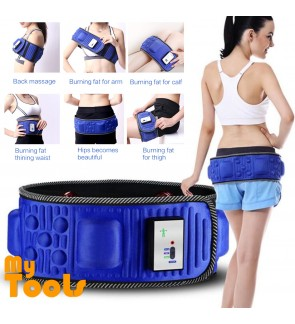 Mytools 6 In 1 5 Motor 20 Stone Waist Vibrate Fat Burn Slim Electric Massage