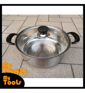 Mytools 22cm Stainless Steel Cooking Pot