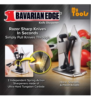Bavarian Edge Kitchen Knife Sharpener Polishing Tools
