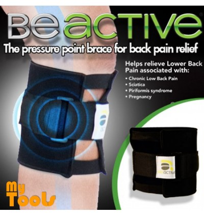Beactive Pressure Point Brace Back Pain Acupressure Sciatic Nerve Be Active