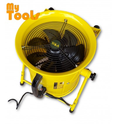 "V'RIL 520W 12"" Portable Ventilator & Blower Fan With Stand"