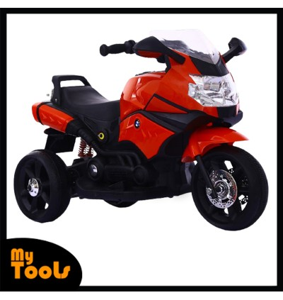 BMW Kids Ride On 6V Battery Electric Super Bike Tricycle Motorcycle Bicycle