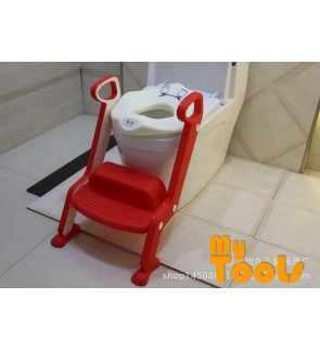 Mytools Double Step Adjustable Ladder Baby Children Toilet Bowl Potty Training Kit