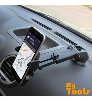 Mytools 360 Rotating Car Windshield Dashboard Phone Holder Mount