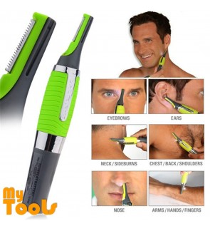 Micro Touch Electric Shaver Clipper Trimmer Travel Kit
