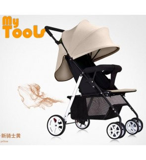Mytools Easy Fold Light weight Baby Stroller With Brake System Prams