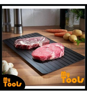 [READY STOCK] Mytools Fast Defrosting Tray Plate Kitchen Defrost Meat Frozen
