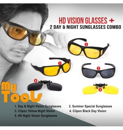 Mytools Anti Glare Wraparound Sunglasses HD Vision