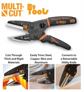 Mytools Multicut Multi Cut 3 in 1 Cutting Tools Multi Cutter
