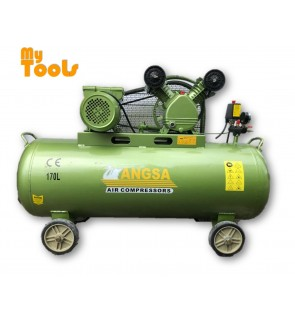 ANGSA AS3-170N 3HP x 170 Liter Belt Driven Air Compressor (TAIWAN)