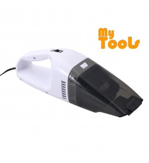 Mytools 120W 12V Car Wet Dry Vacuum Cleaner Mighty White