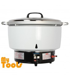 Mytools 80 persons 15L Commercial Gas Rice Cooker (White)