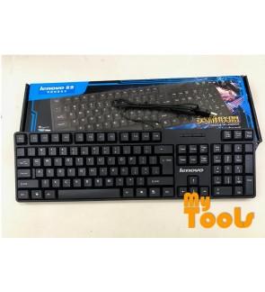 Lenovo LX-520 USB wired Keyboard - Black
