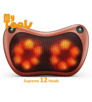 Mytools 12 Balls Roller Car, Home, Office Massage Roller Electronics Neck Back Legs Massage Pillow M