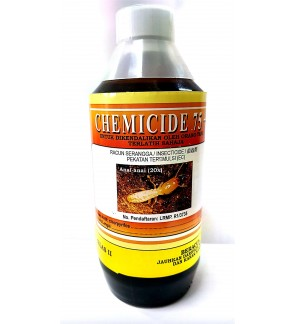 500 Milliliter Chemicide 75+ Insecticide 21.2% Class 2 Racun Anai/Semut (Pest Control Chemical)