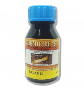 250 Milliliter Chemicide 75+ Insecticide 21.2% Class 2 Racun Anai/Semut (Pest Control Chemical)