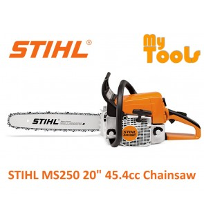 """STIHL MS250 20"""" 45.4cc Chainsaw with Chain Saw 20 Inches Guide Bar"""