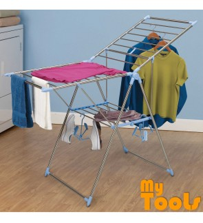 Mytools Foldable Winged Butterfly Cloth Drying Rack Clothes Towel Hanger